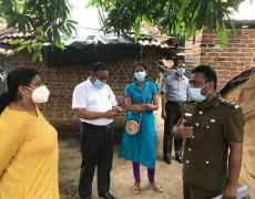 Supervision visits and a review on the current Dengue situation at Batticaloa district.