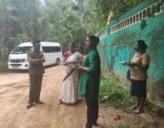 Supervision visits and a review on the current Dengue situation at Monaragala district.